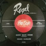 "45Re ✦ DENNIS McMILLON ✦ ""Goin' Back Home""  Killer Country Blues Masterpiece ♫"